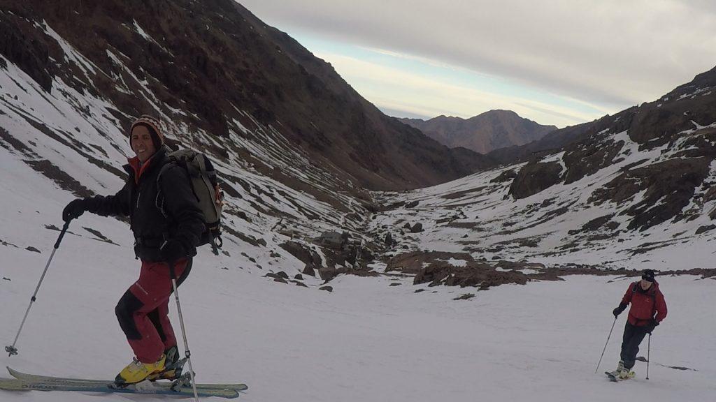 ski touring morocco