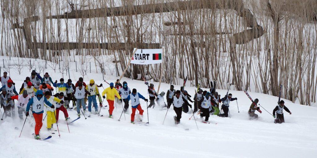 skiing in afghanistan - afghan ski challenge